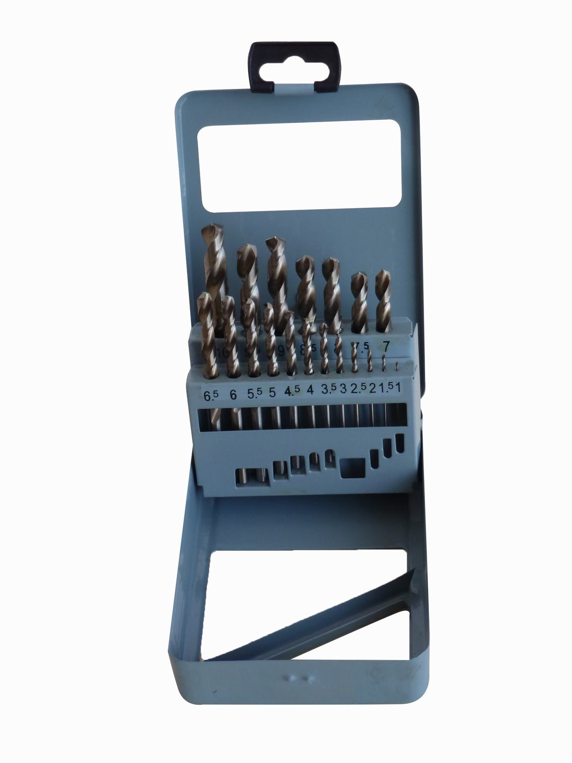 19 PCS HSS Twist Drills (METRIC)