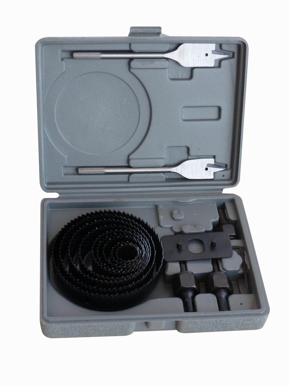 18 PCS Carbon Steel Hole Saw Set
