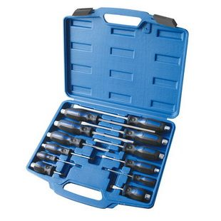 12PCS PROFESSIONAL GO-THROUGH SCREWDRIVERS SET