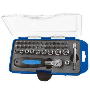 38PCS BIT AND SOCKET SET