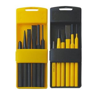 6Pcs punch & chisel set