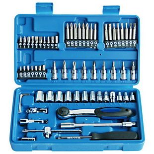 "65 PCS 1/4"" DR. SOCKETS AND BITS SET"