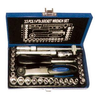 "33Pcs1/4"" DR. SOCKETS SET"