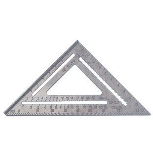 Aluminum alloy triangular compass